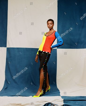 Editorial image of Christopher John Rogers presentation, Spring Summer 2021, Paris Fashion Week, France - 25 Sep 2020
