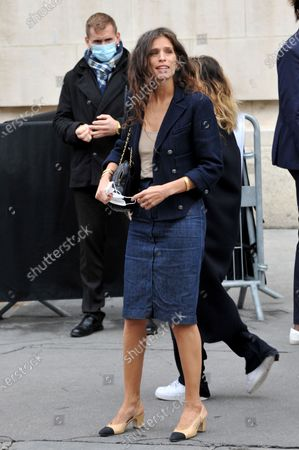 Editorial image of Chanel show, Arrivals, Spring Summer 2021, Paris Fashoin Week, France - 06 Oct 2020