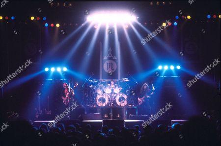 Motorhead - Lemmy, Phil taylor and Eddie Clarke, Britain - 1984