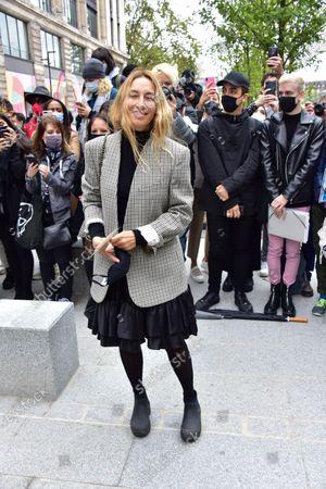 Editorial photo of Louis Vuitton show, Arrivals, Spring Summer 2021, Paris Fashion Week, France - 06 Oct 2020