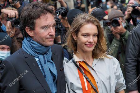 Antoine Arnault and Natalia Vodianova