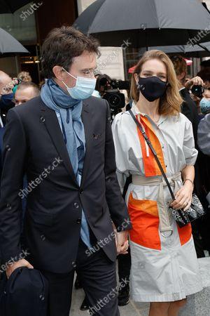 Antoine Arnault and his wife Natalia Vodianova-Arnault