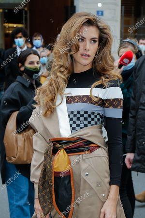 Editorial image of Louis Vuitton show, Arrivals, Spring Summer 2021, Paris Fashion Week - 06 Oct 2020