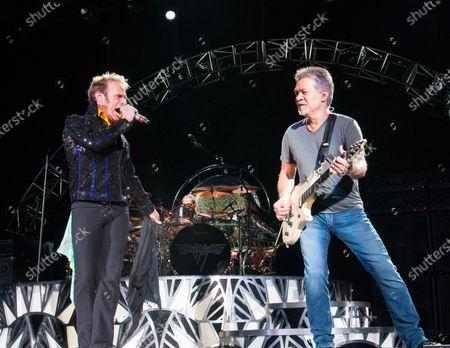 Editorial image of Guitarist Eddie Van Halen dies aged 65, Santa Monica, USA - 06 Oct 2020