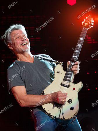 Editorial picture of Guitarist Eddie Van Halen dies aged 65, Santa Monica, USA - 06 Oct 2020