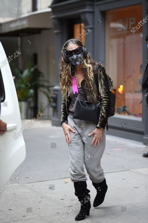 Editorial photo of Sarah Jessica Parker out and about, New York, USA - 06 Oct 2020