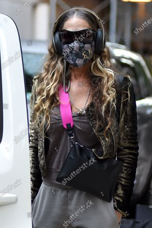Sarah Jessica Parker leaves SJP by Sarah Jessica Parker store in Midtown Manhattan.