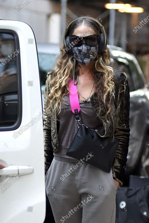 Editorial image of Sarah Jessica Parker out and about, New York, USA - 06 Oct 2020