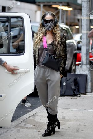 Editorial picture of Sarah Jessica Parker out and about, New York, USA - 06 Oct 2020