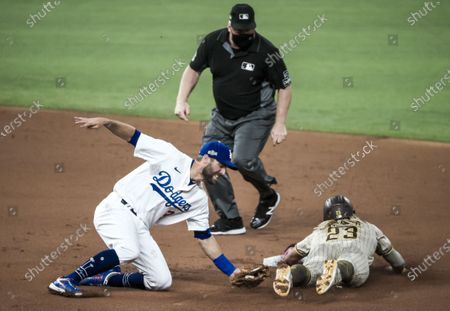 Editorial image of San Diego Padres vs. Los Angeles Dodgers - National League Division Series, Arlington, USA - 06 Oct 2020