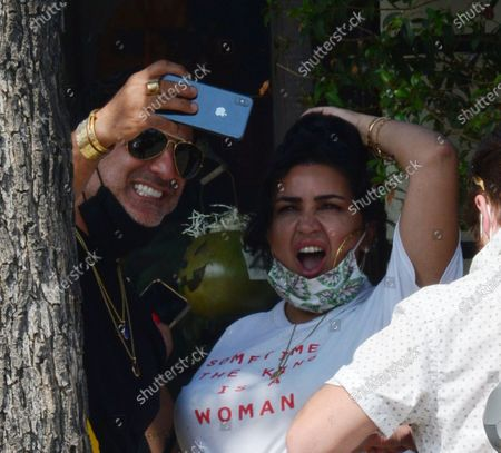 Editorial image of Exclusive - Reza Farahan and Mercedes Javid out and about, Los Angeles, USA - 06 Oct 2020