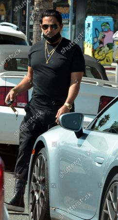 Stock Photo of Exclusive - Reza Farahan, from the TV show 'Shahs of Sunset,' seen filming in Studio City