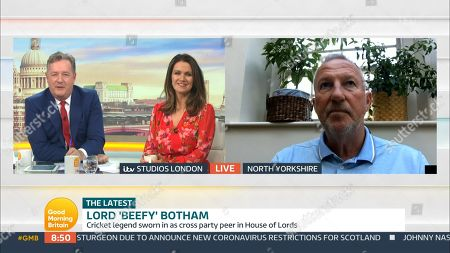 Editorial image of 'Good Morning Britain' TV Show, London, UK - 07 Oct 2020