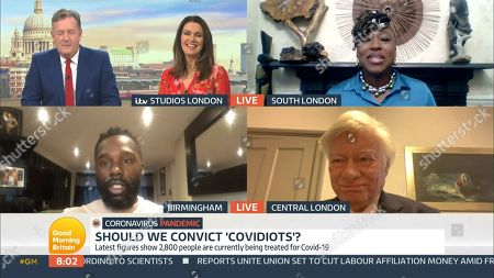 Editorial picture of 'Good Morning Britain' TV Show, London, UK - 07 Oct 2020