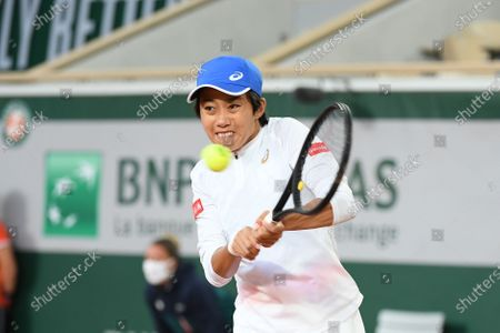 Stock Picture of Zhang Shuai at Roland Garros