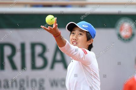 Zhang Shuai at Roland Garros