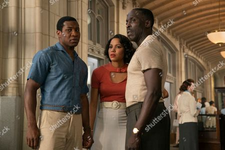 Jonathan Majors as Atticus Freeman, Jurnee Smollett-Bell as Letitia 'Leti' Lewis and Michael K Williams as Montrose Freeman