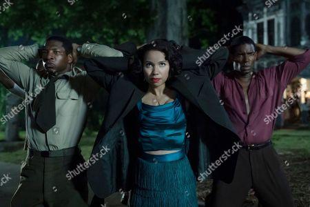 Jonathan Majors as Atticus Freeman and Jurnee Smollett-Bell as Letitia 'Leti' Lewis