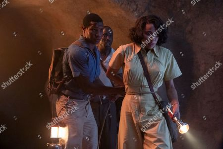 Jonathan Majors as Atticus Freeman, Michael K Williams as Montrose Freeman and Jurnee Smollett-Bell as Letitia 'Leti' Lewis