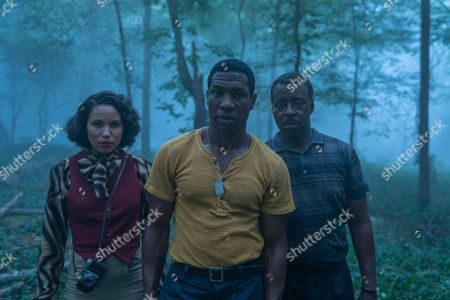 Jurnee Smollett-Bell as Letitia 'Leti' Lewis, Jonathan Majors as Atticus Freeman and Courtney B Vance as George Freeman