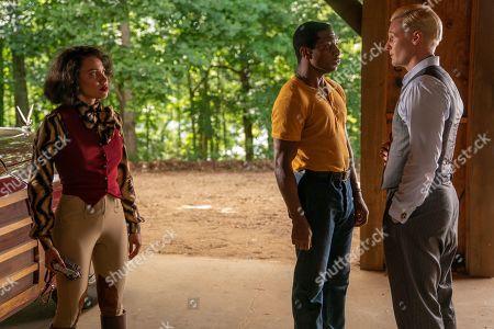 Jurnee Smollett-Bell as Letitia 'Leti' Lewis, Jonathan Majors as Atticus Freeman and Jordan Patrick Smith as William