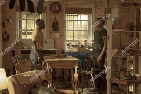 Michael K Williams as Montrose Freeman and Jonathan Majors as Atticus Freeman