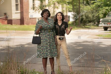 Stock Image of Wunmi Mosaku as Ruby Baptiste and Jurnee Smollett-Bell as Letitia 'Leti' Lewis