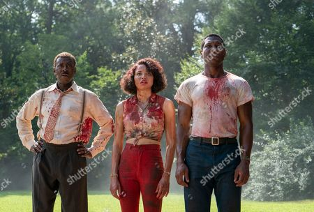 Courtney B Vance as George Freeman, Jurnee Smollett-Bell as Letitia 'Leti' Lewis and Jonathan Majors as Atticus Freeman