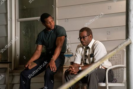 Jonathan Majors as Atticus Freeman and Courtney B Vance as George Freeman