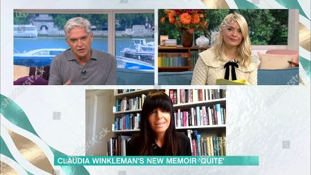 Phillip Schofield, Holly Willoughby and Claudia Winkleman