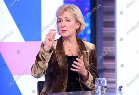 Stock Image of Andrea Leadsom