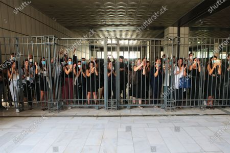 Editorial photo of Court finds Golden Dawn leadership guilty of forming criminal organisation, Athens, Greece - 07 Oct 2020