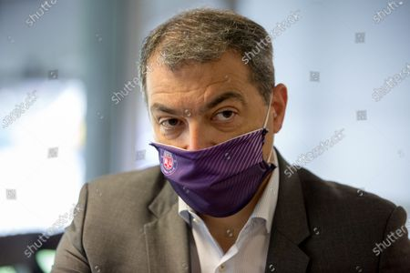 Stock Picture of Damien Comolli president of Toulouse Footbal Club, TFC, since July 20, 2020 with the sale of the club by Olivier Sadran to American investors RedBird Capital Partners6.