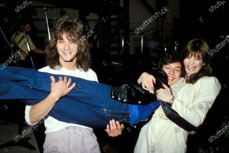 Eddie Van Halen, Glenn Scarpelli and Valerie Bertinelli