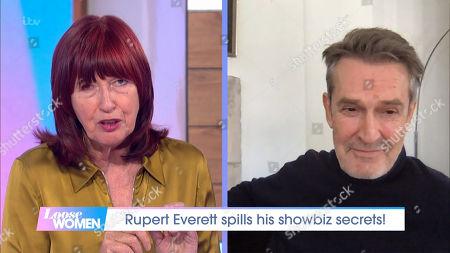Janet Street-Porter and Rupert Everett
