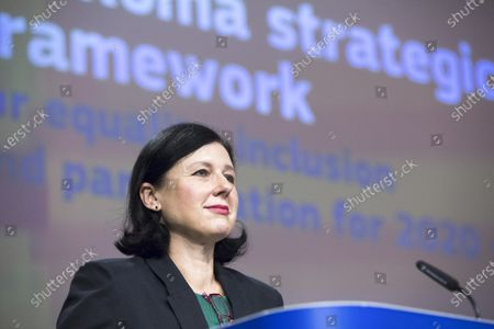 Stock Image of Vera Jourova