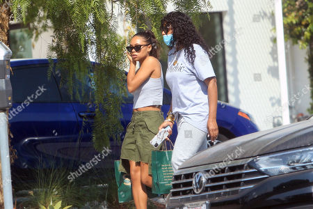 Editorial image of Jurnee Smollett out and about, Los Angeles, USA - 06 Oct 2020