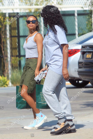 Editorial photo of Jurnee Smollett out and about, Los Angeles, USA - 06 Oct 2020