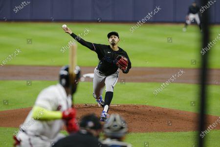 Editorial image of NLDS Braves Marlins Baseball, Houston, United States - 07 Oct 2020