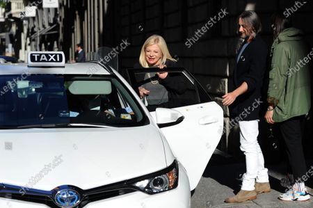 Editorial photo of Sandra Milo out and about, Milan, Italy - 07 Oct 2020