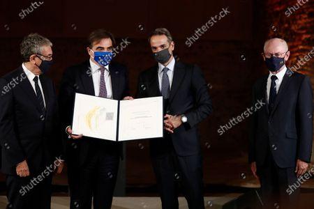 Editorial image of European 'Empress Theofano' Award Ceremony, Thessaloniki, Greece - 07 Oct 2020