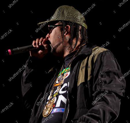 Editorial image of Bun B in concert, Austin, TX, USA - 03 Oct 2020