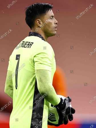Mexico goalkeeper Alfredo Talavera Diaz during the friendly match between the Netherlands and Mexico at the Johan Cruyff Arena