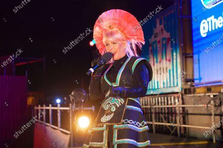 Editorial photo of Deezer's 80's Drive-In, London, UK - 07 Oct 2020