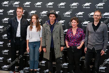 Stock Image of Samuel Benchetrit, Anne Delseth, Daphne Patakia, Guillaume Senez and Yoann Zimmer