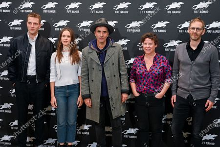 Editorial image of Short Film Jury photocall, International French Film Festival in Namur, Belgium - 07 Oct 2020