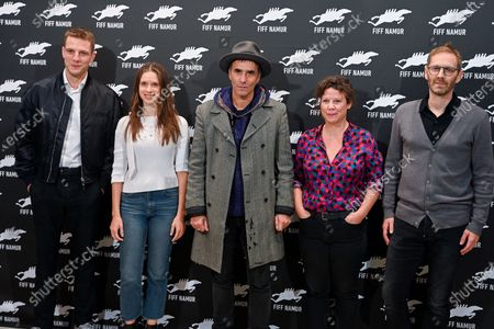 Editorial picture of Short Film Jury photocall, International French Film Festival in Namur, Belgium - 07 Oct 2020