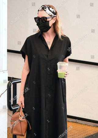 Editorial image of Ellen Pompeo and Chris Ivery out and about, Los Angeles, USA - 07 Oct 2020