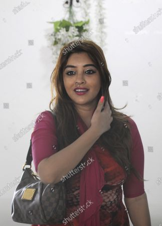 Editorial picture of Press Conference Of Actor Payal Ghosh, Noida, Uttar Pradesh, India - 07 Oct 2020
