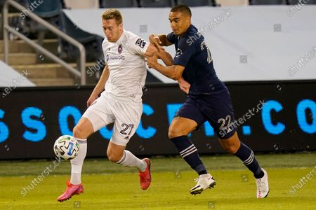 Editorial picture of MLS Fire Sporting KC Soccer, Kansas City, United States - 07 Oct 2020